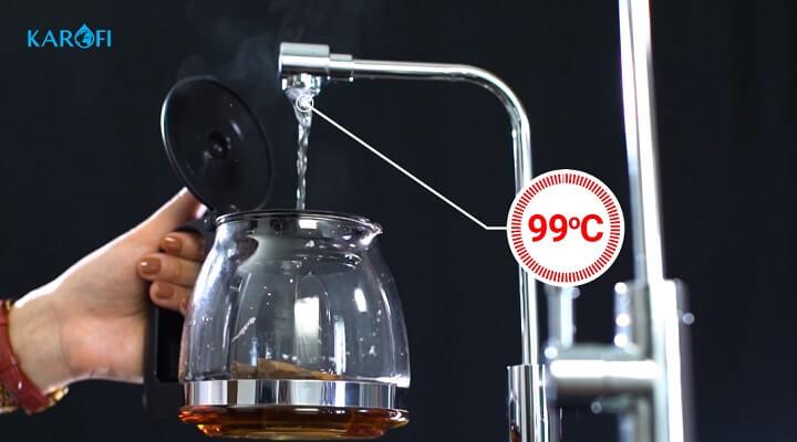 máy lọc nước thông minh nóng nhanh o-h128