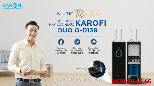 Những tiện ích khi dùng máy lọc nước karofi Optimus 8 lõi