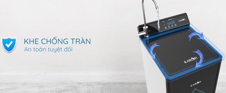 hệ thống chống tràn máy lọc nước karofi optimus plus