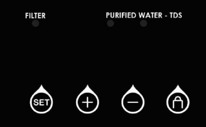 màn hình máy lọc nước karofi optimus plus