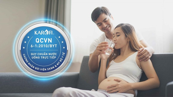 máy lọc nước karofi optimus hot+ o-h238 an toàn thực phẩm