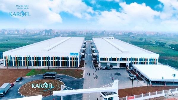 nhà máy lọc nước Karofi Việt Nam