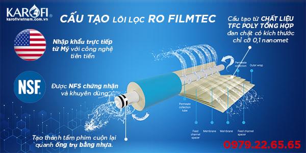 màng lọc DOW Filmtec và màng RO