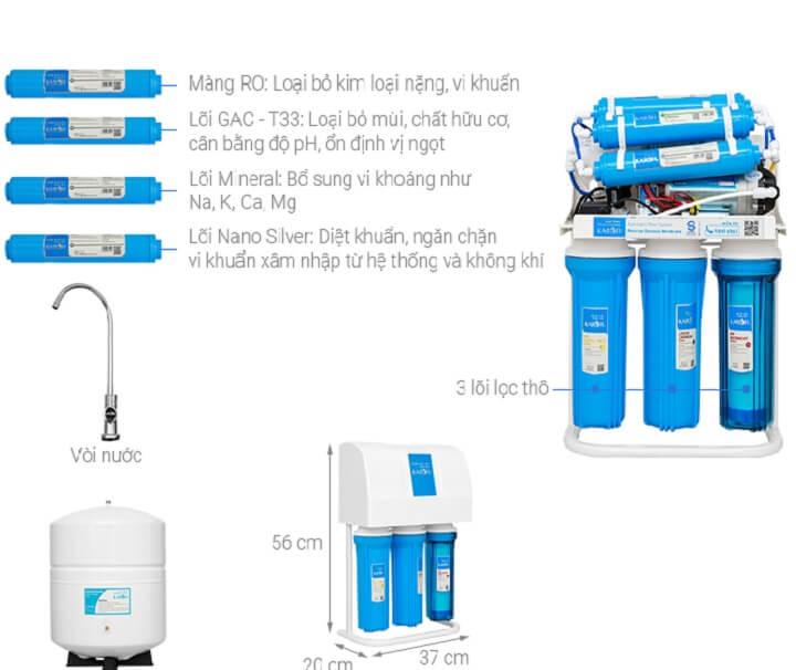 máy lọc nước karofi s-s137